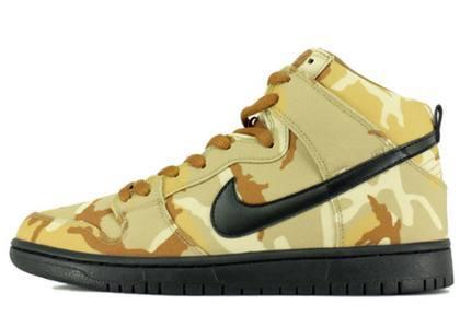 Nike SB Dunk High Pro Desert Camoの写真