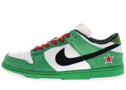 Nike SB Dunk Low Heinekenの写真