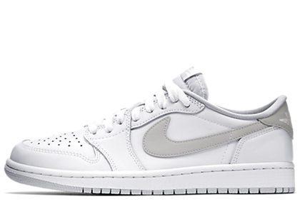 Nike Air Jordan 1 Retro Low OG White/Greyの写真