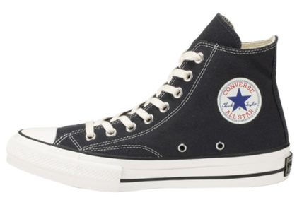 Converse Chuck Taylor Canvas Hi Smoky Blackの写真