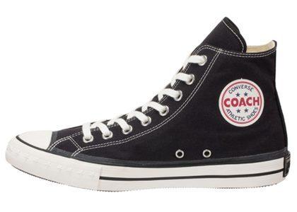 Converse Coach Canvas Hi Blackの写真