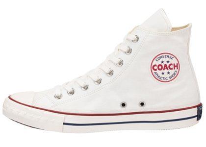 Converse Coach Canvas Hi Whiteの写真