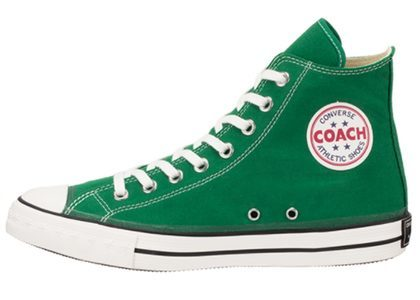 Converse Coach Canvas Hi Greenの写真