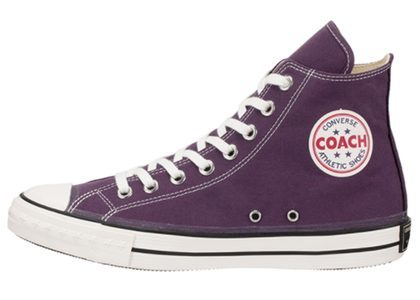 Converse Coach Canvas Hi Purpleの写真