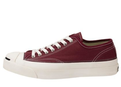 Converse Jack Purcell Canvas maroonの写真