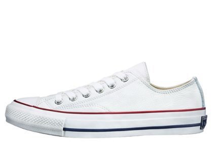 Converse Chuck Taylor Leather Ox Whiteの写真
