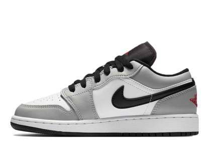 Nike Air Jordan 1 Low GS Light Smike Greyの写真