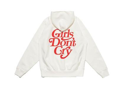 Girls Don 't Cry × Human Made Hoodie Whiteの写真