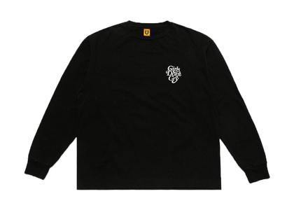 Girls Don 't Cry × Human Made L/S Tee Blackの写真