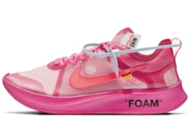 OFF-WHITE VIRGIL ABLOH × NIKE ZOOM FLY SP PINKの写真