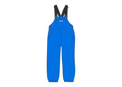 Supreme × Polartec Overalls Bright Blueの写真