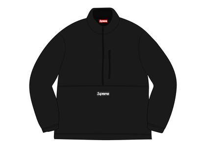 Supreme × Polartec Half Zip Pullover Blackの写真