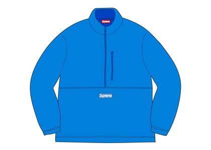 Supreme × Polartec Half Zip Pullover Bright Blueの写真