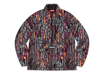 Supreme × Polartec Half Zip Pullover Purple Treebark® Camoの写真
