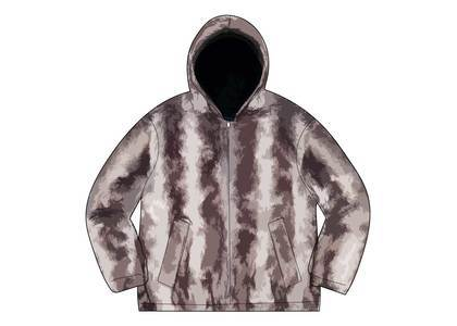 Supreme Faux Fur Reversible Hooded Jacket Black