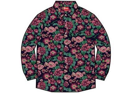 Supreme Digi Floral Corduroy Shirt Navyの写真