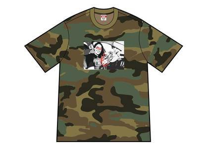 Supreme × ANTIHERO ICE Tee Woodland Camoの写真