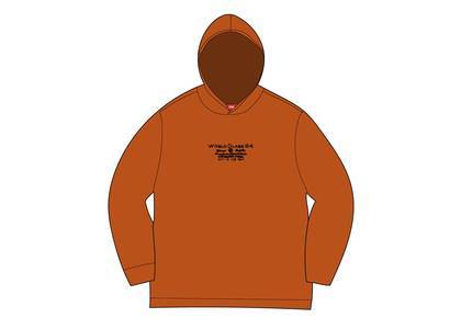 Supreme Best Of The Best Hooded L/S Top Burnt Orangeの写真
