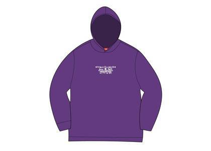 Supreme Best Of The Best Hooded L/S Top Purpleの写真