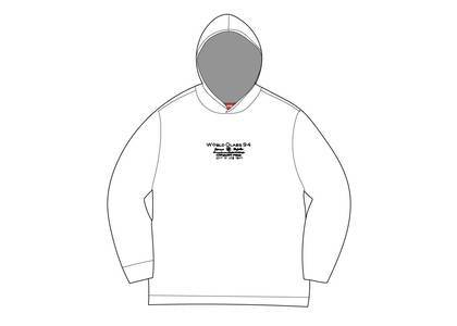 Supreme Best Of The Best Hooded L/S Top Whiteの写真