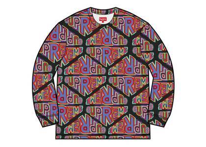Supreme Perspective L/S Top Blackの写真