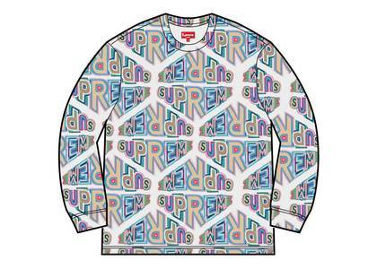 Supreme Perspective L/S Top Whiteの写真