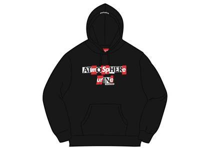 Supreme × ANTIHERO Hooded Sweatshirt Blackの写真