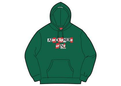 Supreme × ANTIHERO Hooded Sweatshirt Dark Greenの写真