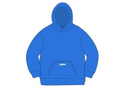 Supreme × Polartec Hooded Sweatshirt Bright Blueの写真