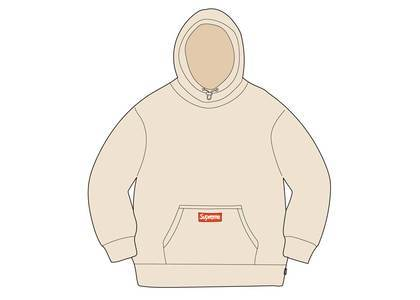 Supreme × Polartec Hooded Sweatshirt Naturalの写真