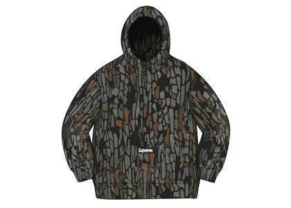 Supreme × Polartec Hooded Sweatshirt Olive Treebark® Camoの写真