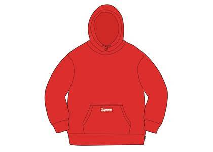 Supreme × Polartec Hooded Sweatshirt Redの写真