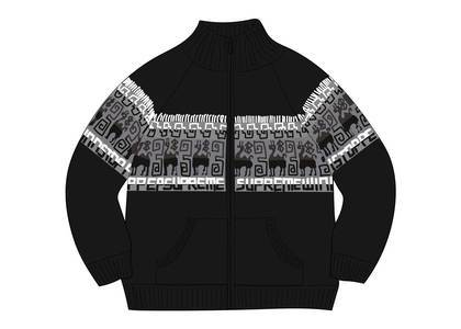 Supreme Chullo WINDSTOPPER® Zip Up Sweater Blackの写真