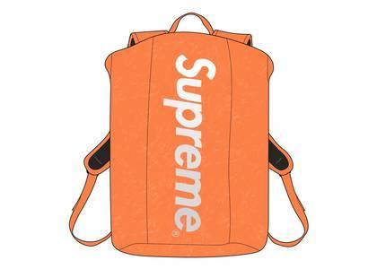 Supreme Waterproof Reflective Speckled Backpack Orangeの写真