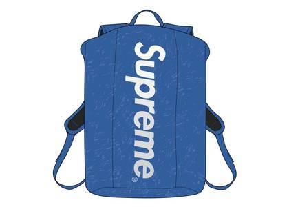Supreme Waterproof Reflective Speckled Backpack Royalの写真