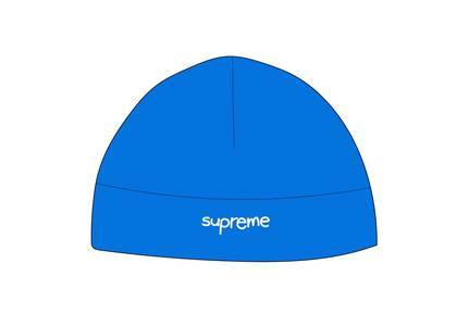 Supreme × Polartec Beanie Bright Blueの写真