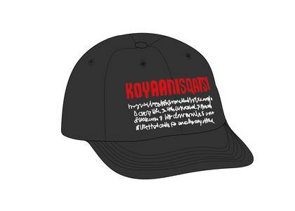 Supreme Koyaanisqatsi 6-Panel Blackの写真