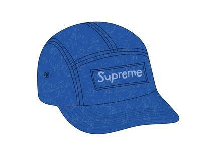 Supreme Reflective Speckled Camp Cap Royalの写真