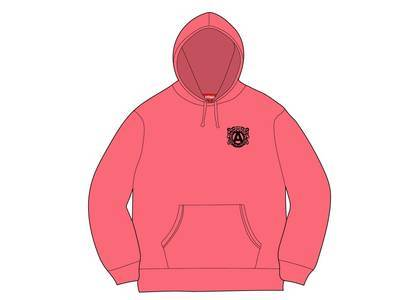 Supreme Anti Hooded Sweatshirt Bright Coralの写真