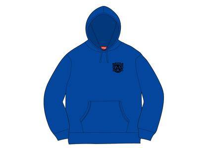 Supreme Anti Hooded Sweatshirt Royalの写真