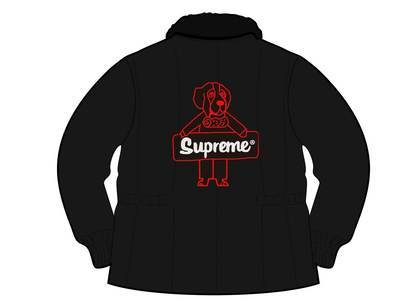 Supreme RefrigiWear Insulated Iron-Tuff Jacket Blackの写真