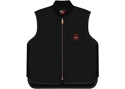 Supreme RefrigiWear Insulated Iron-Tuff Vest Blackの写真