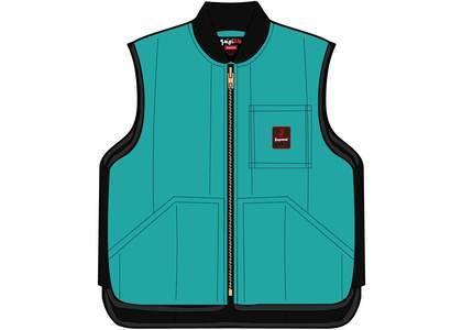 Supreme RefrigiWear Insulated Iron-Tuff Vest Bright Tealの写真