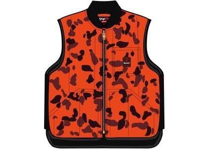 Supreme RefrigiWear Insulated Iron-Tuff Vest Orange Camoの写真
