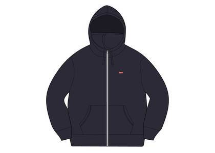 Supreme Small Box Facemask Zip Up Hooded Sweatshirt Navyの写真