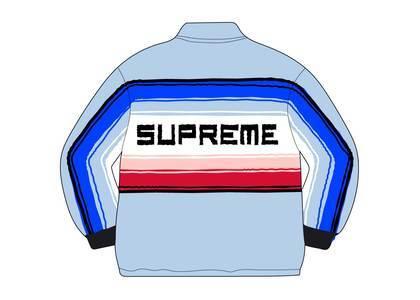 Supreme Tlaxcala Blanket Jacket Light Blueの写真