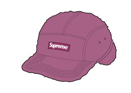 Supreme Deep Pile Earflap Camp Cap Dusty Pinkの写真