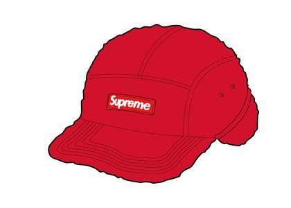 Supreme Deep Pile Earflap Camp Cap Redの写真