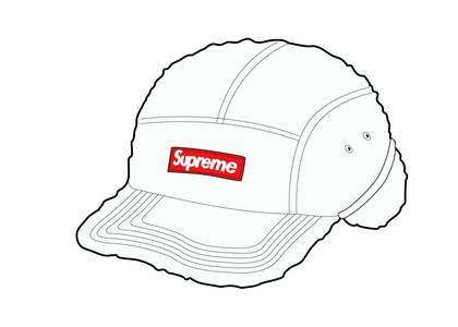 Supreme Deep Pile Earflap Camp Cap Whiteの写真