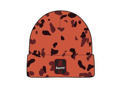 Supreme RefrigiWear Beanie Orange Camoの写真